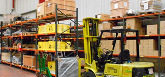 almacenaje industrial Euskadi